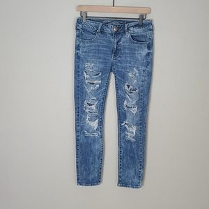 American Eagle Stretch Jegging Ankle Jeans Size 6